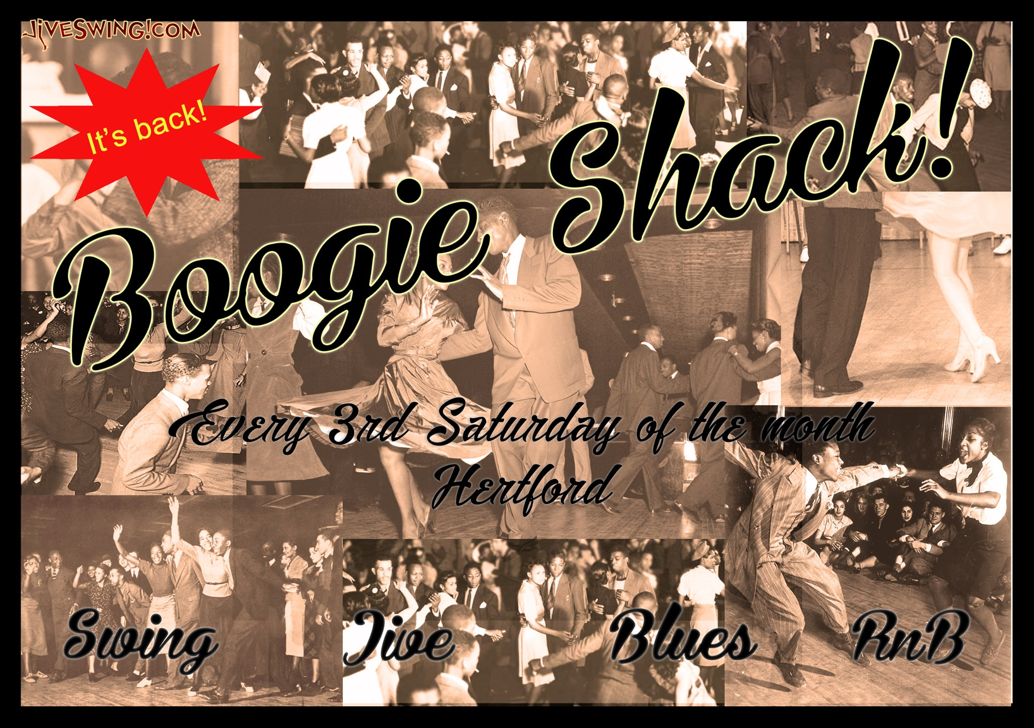 Boogie Shack Social Dancing Hertford