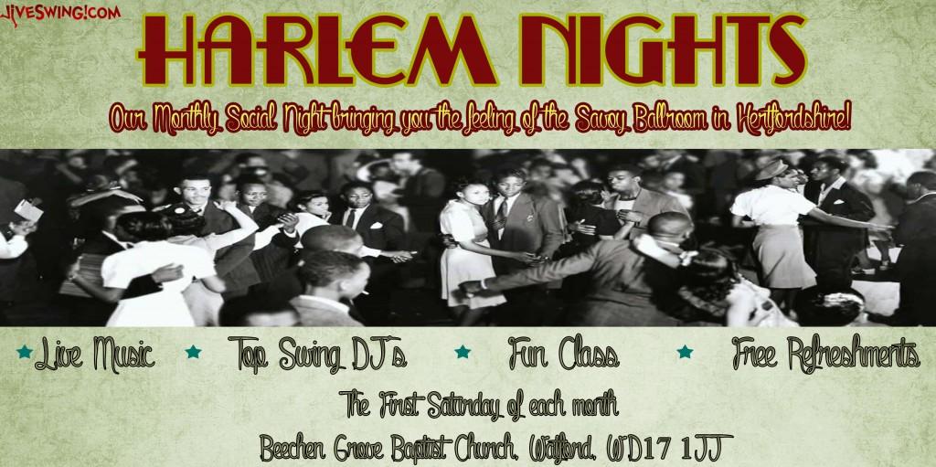 Harlem Nights Banner