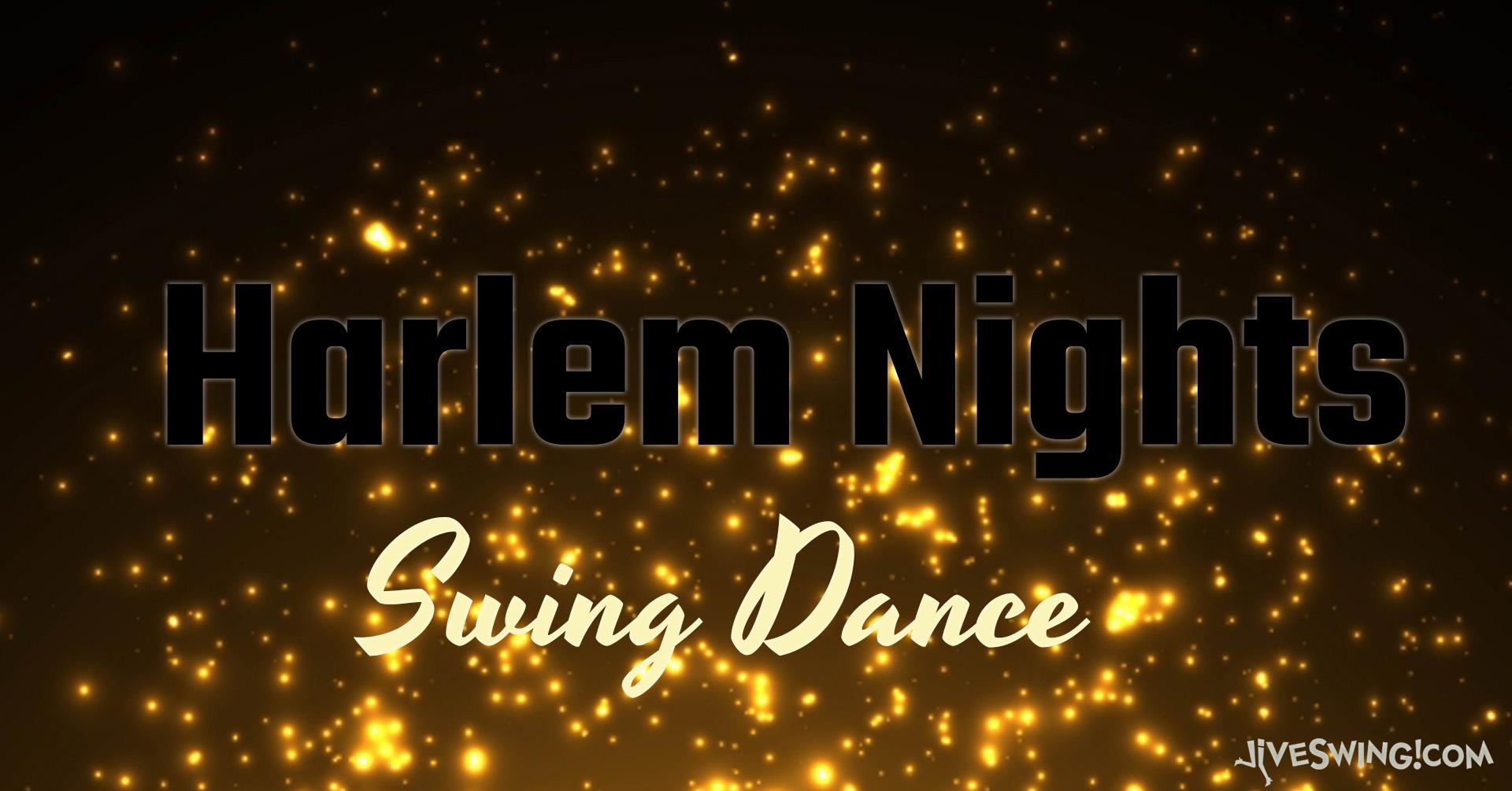 Harlem Nights 4th September – Live Band!